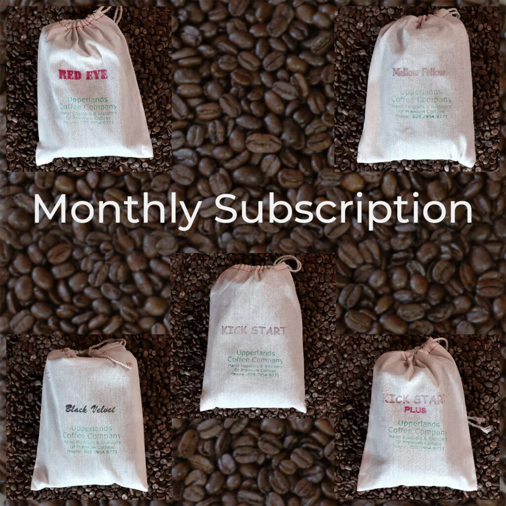 Buy Monthly Coffee Subscription